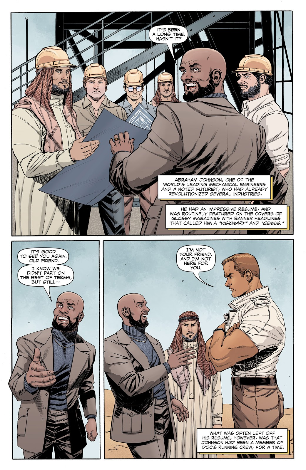 Doc Savage (2013) issue 4 - Page 4