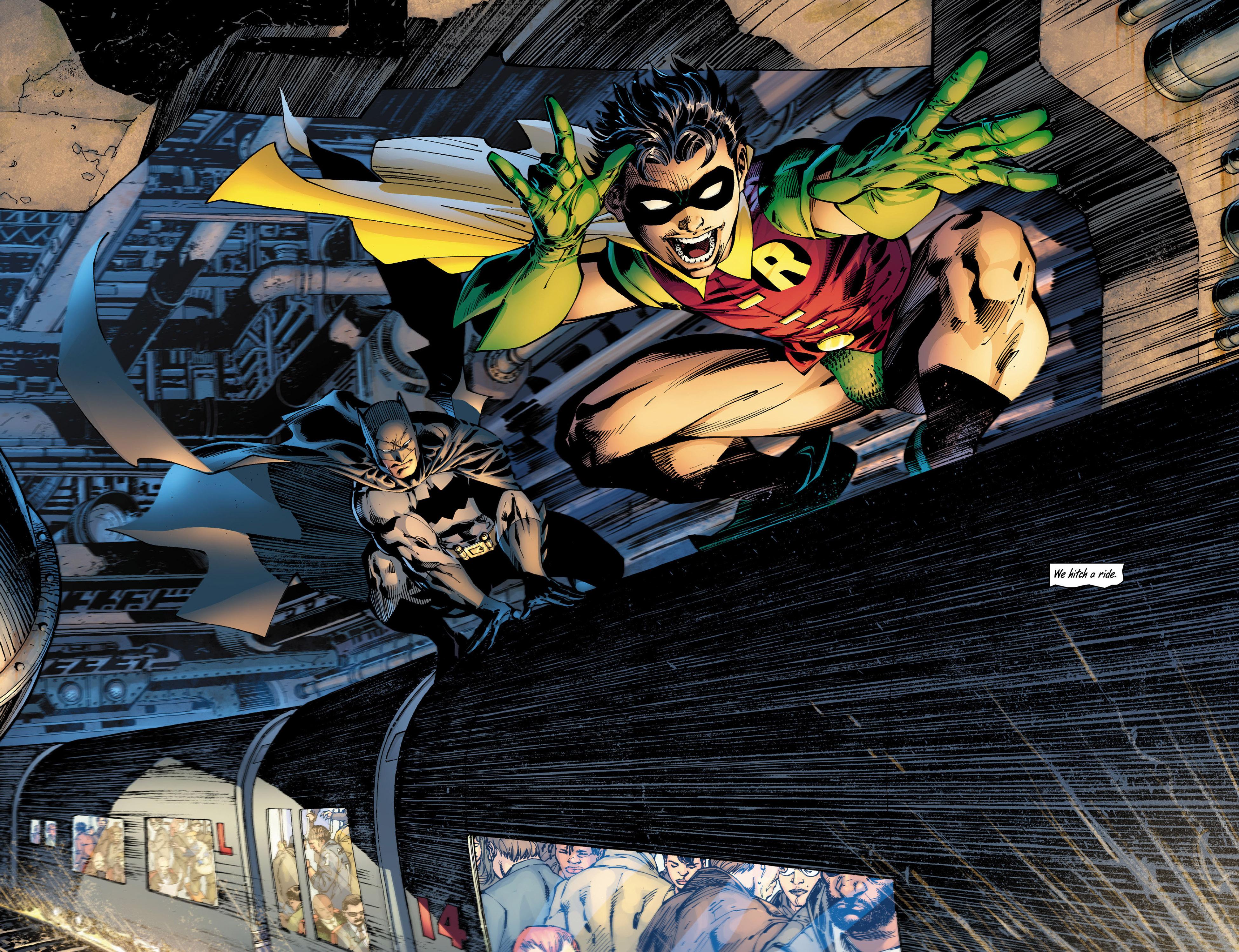Read online All Star Batman & Robin, The Boy Wonder comic -  Issue #10 - 11
