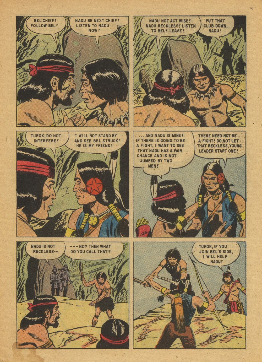 Read online Turok, Son of Stone comic -  Issue #15 - 27