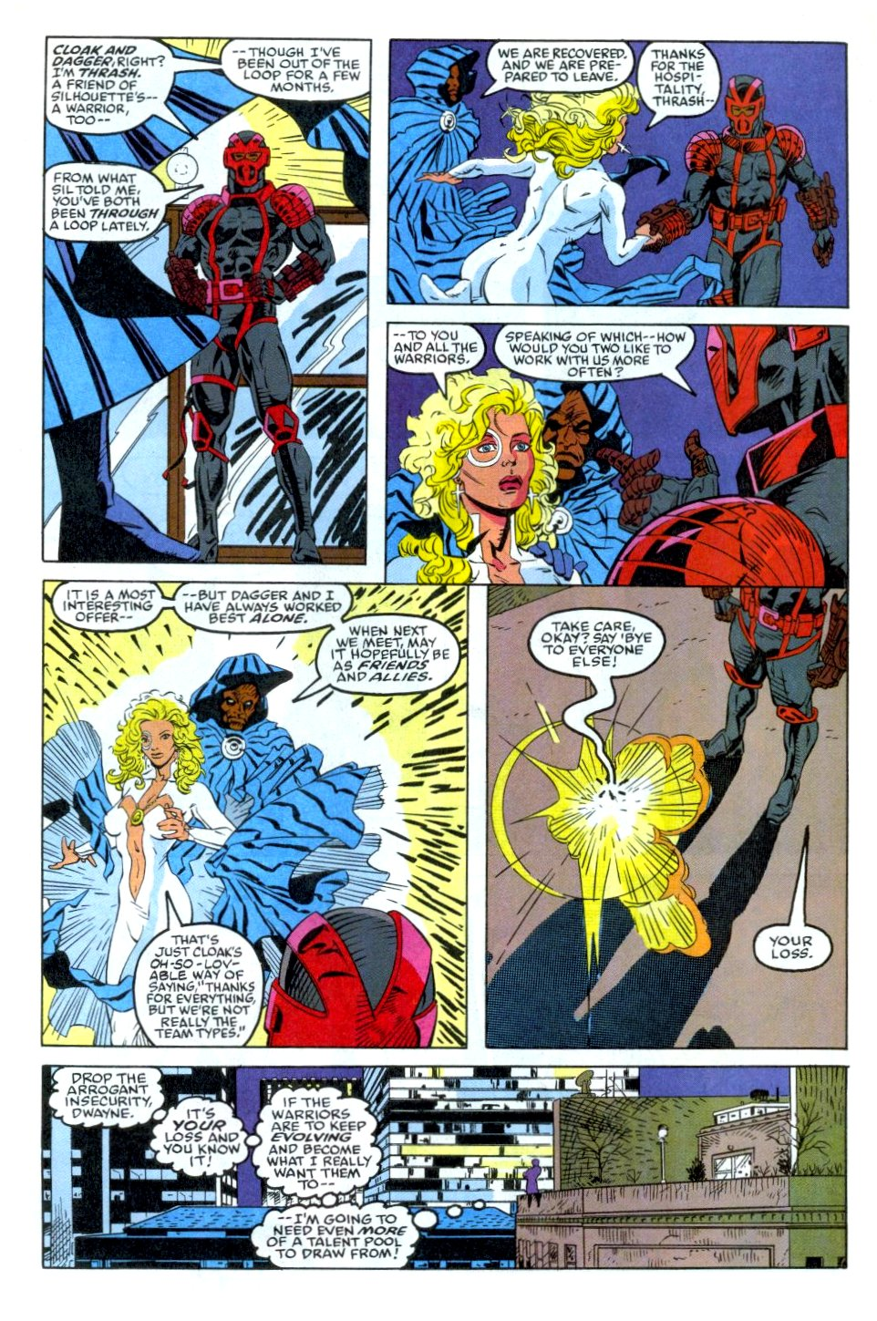 The New Warriors Issue #35 #39 - English 12