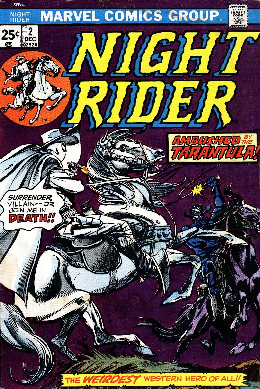 Night Rider issue 2 - Page 1