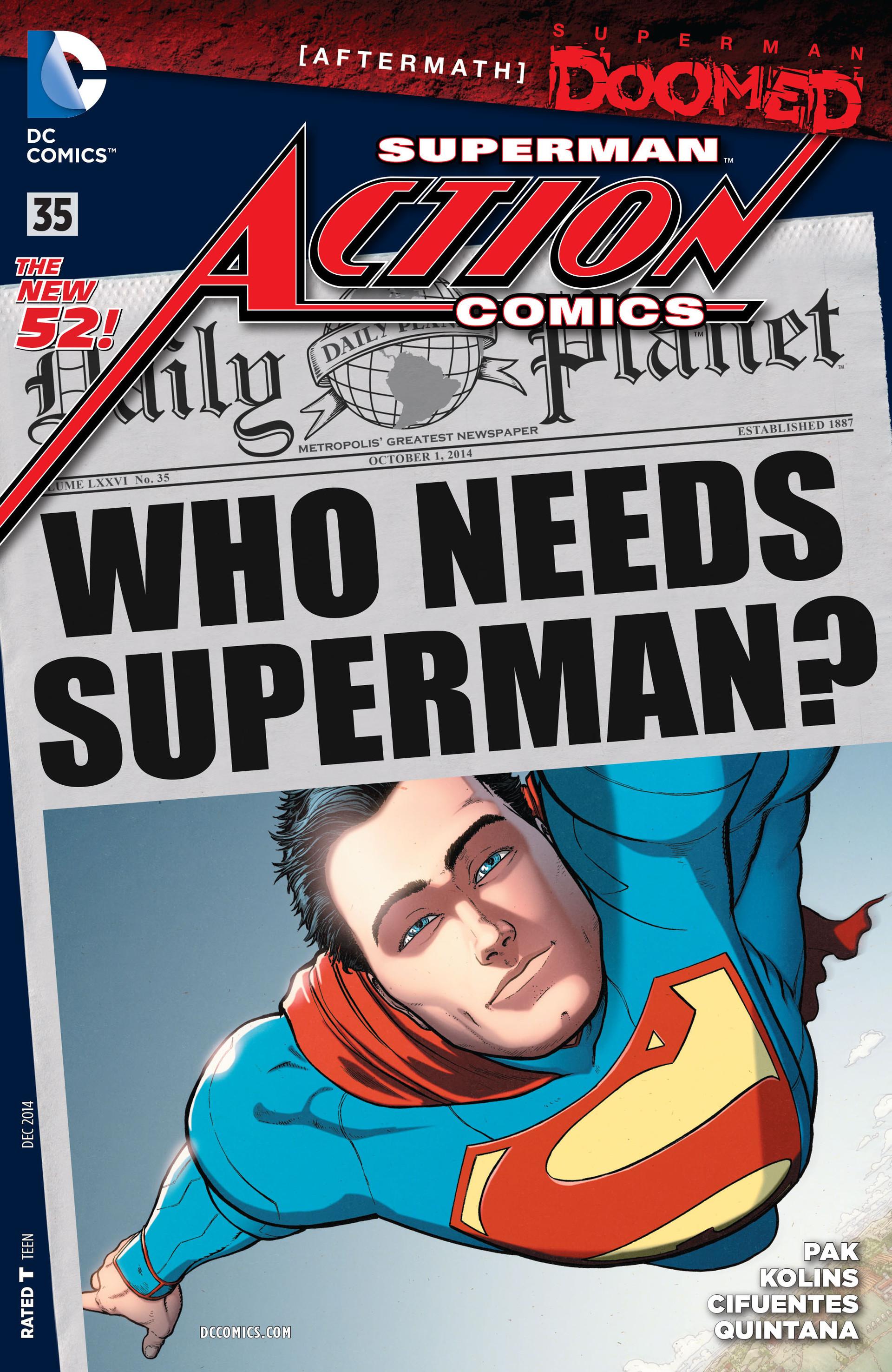 Action Comics (2011) 35 Page 1