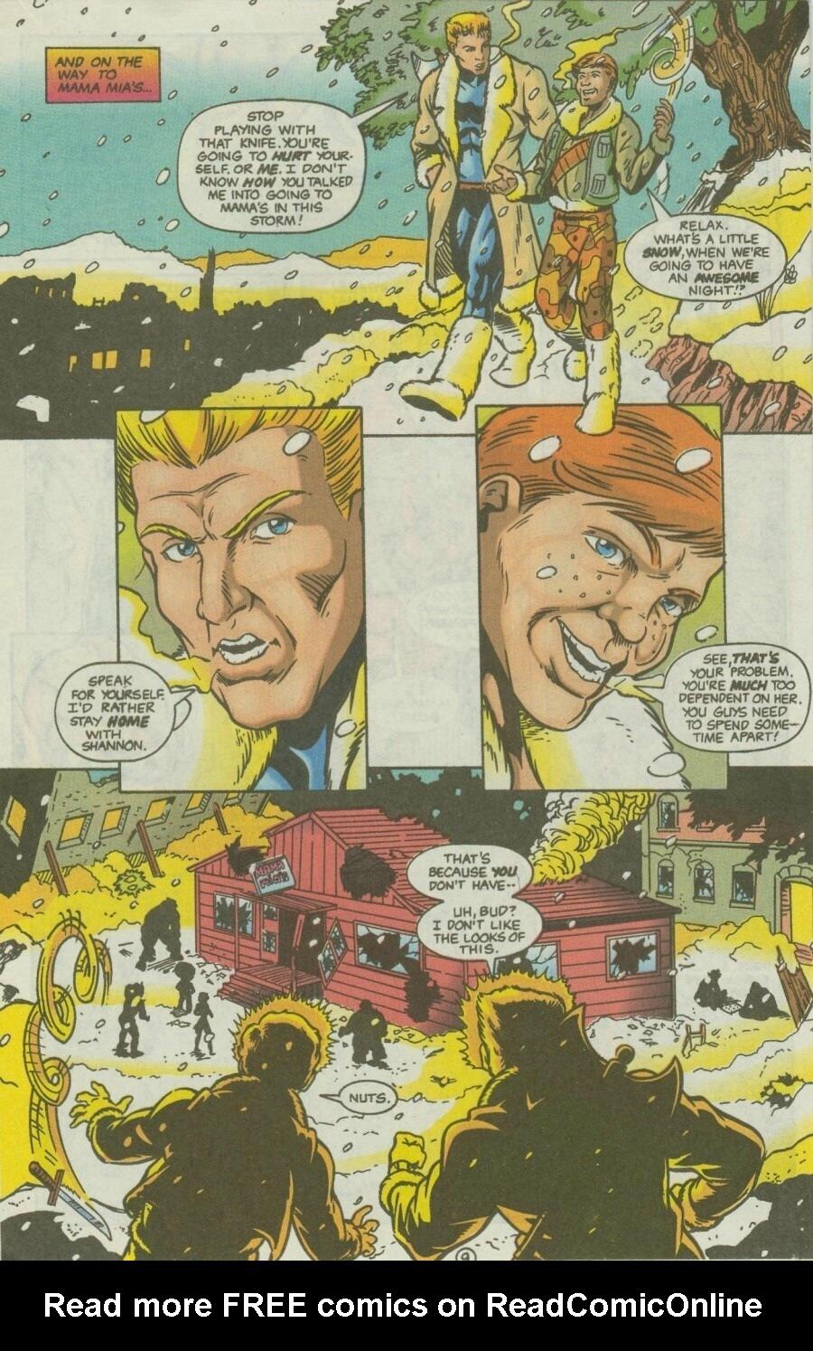 Read online Ex-Mutants comic -  Issue #10 - 12