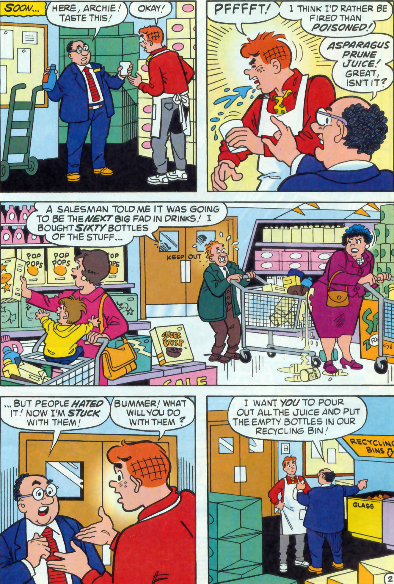 Read online Archie (1960) comic -  Issue #470 - 3