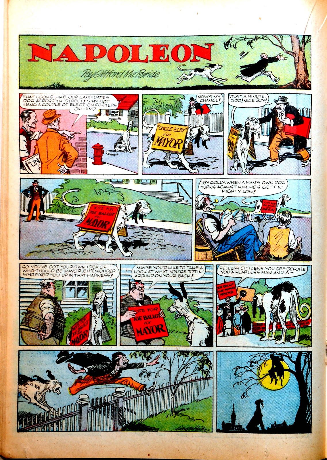 Read online Famous Funnies comic -  Issue #52 - 34