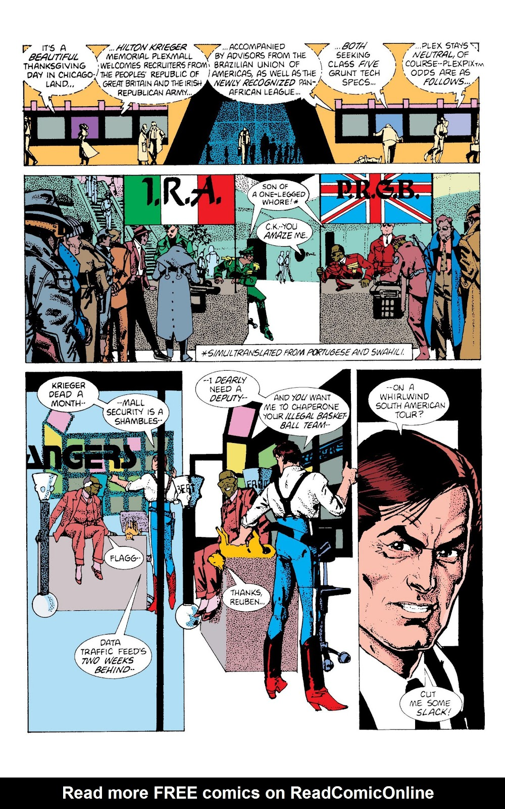 American Flagg! issue Definitive Collection (Part 2) - Page 17