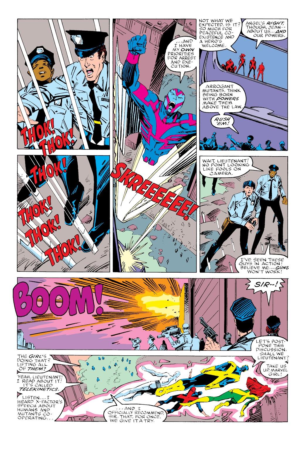 Read online X-Men Milestones: Fall of the Mutants comic -  Issue # TPB (Part 3) - 48