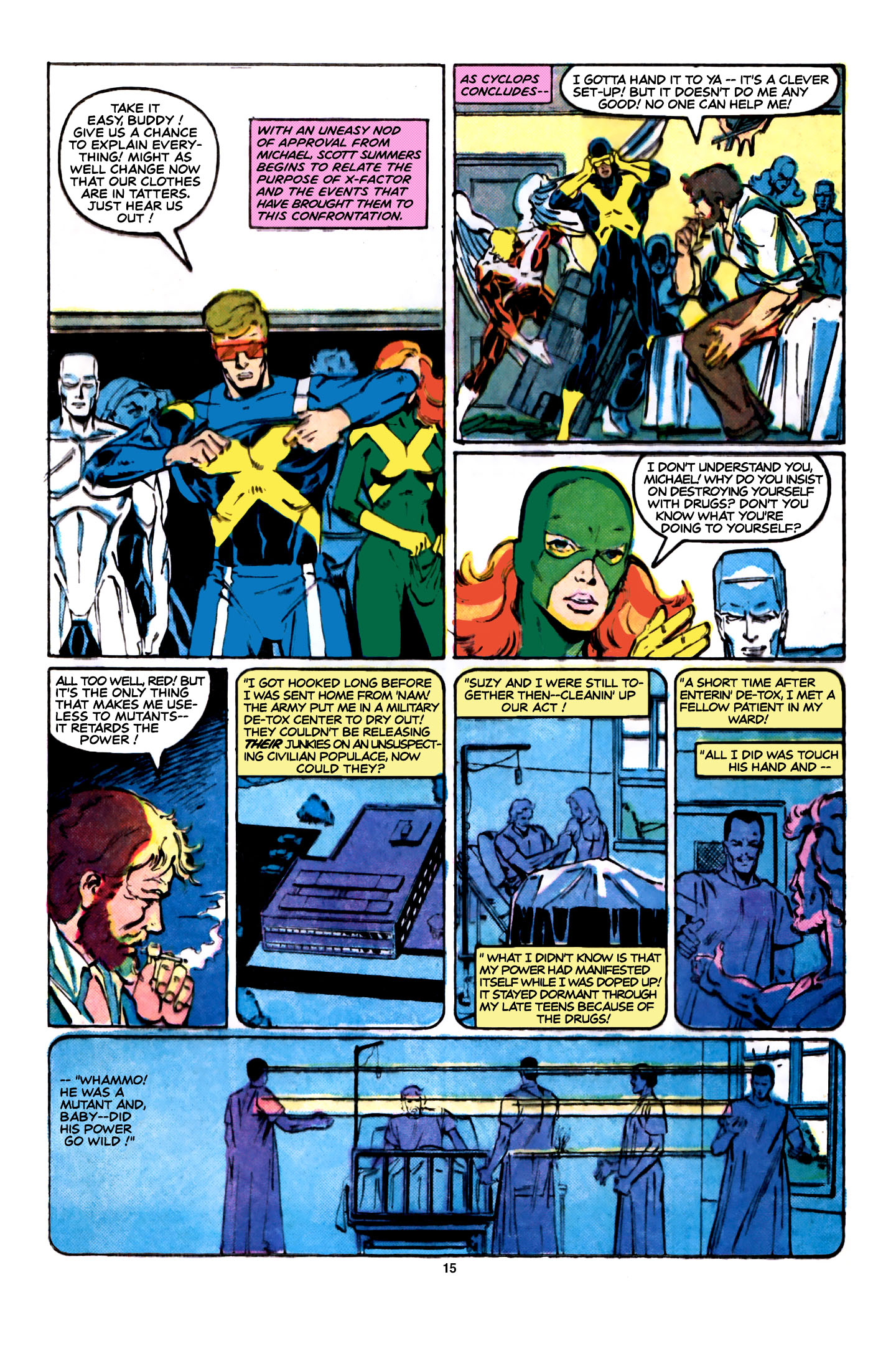 Read online X-Factor (1986) comic -  Issue #5 - 16