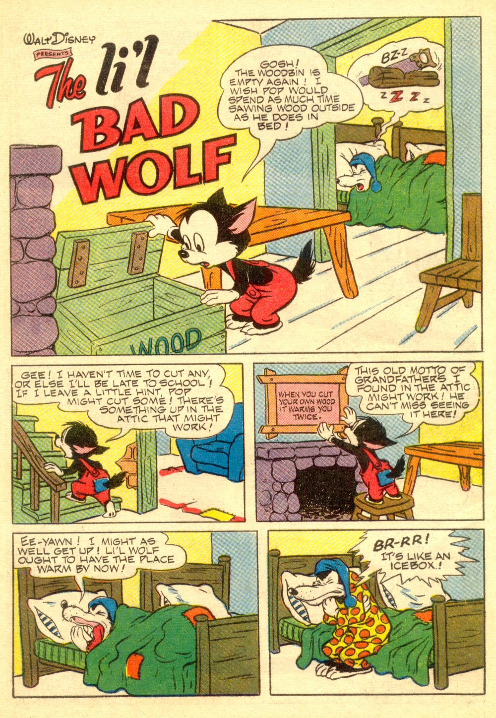 Walt Disney's Comics and Stories issue 196 - Page 13