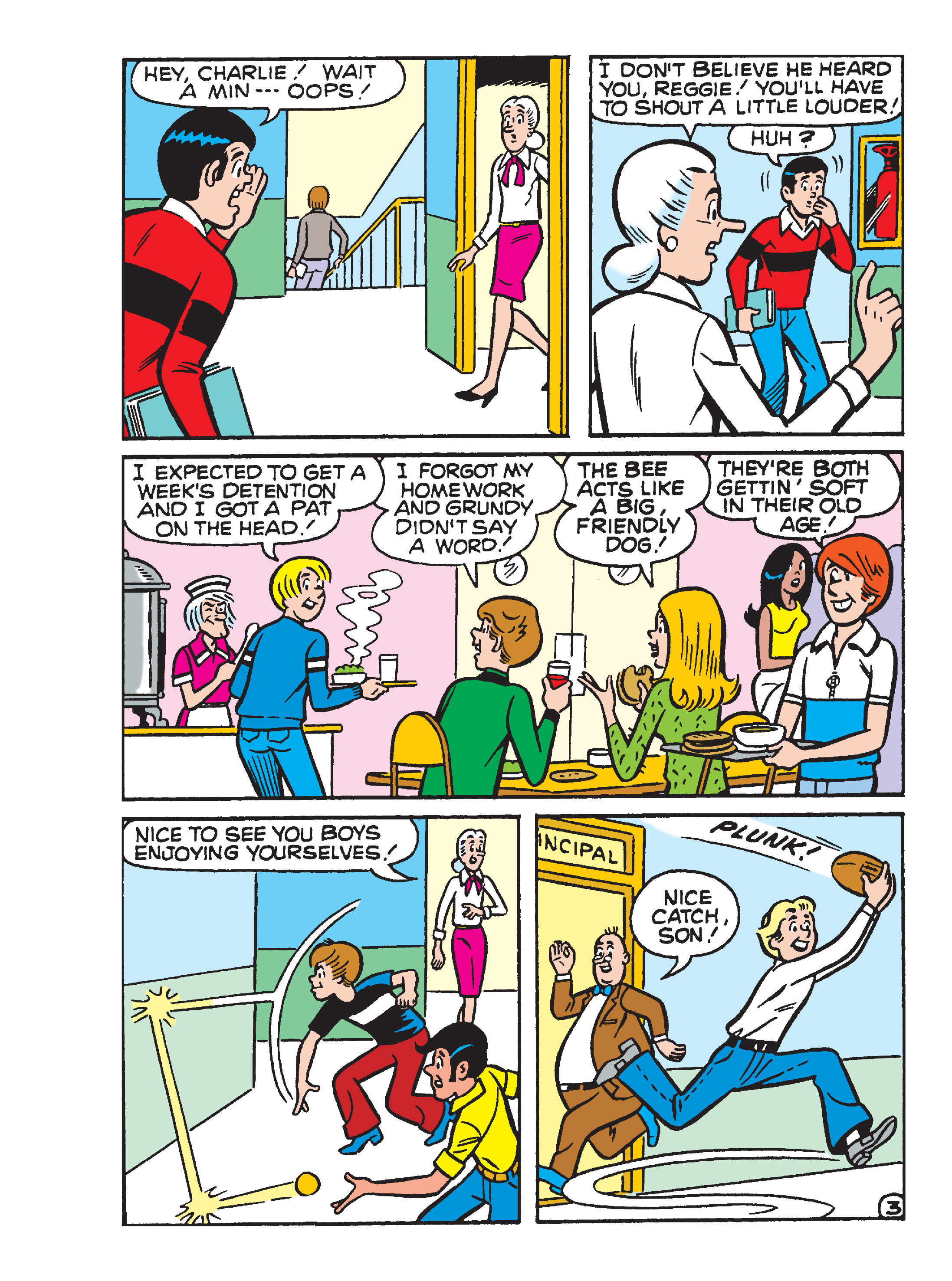 Read online Archie's Funhouse Double Digest comic -  Issue #23 - 133