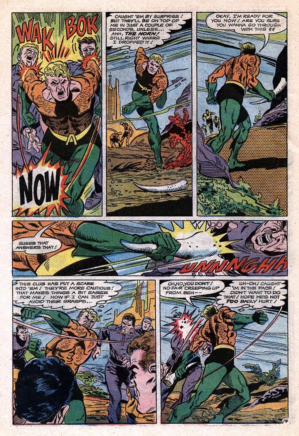 Read online Aquaman (1962) comic -  Issue #41 - 25