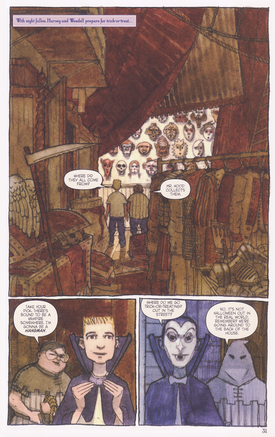 Read online Clive Barker's The Thief Of Always comic -  Issue #1 - 32
