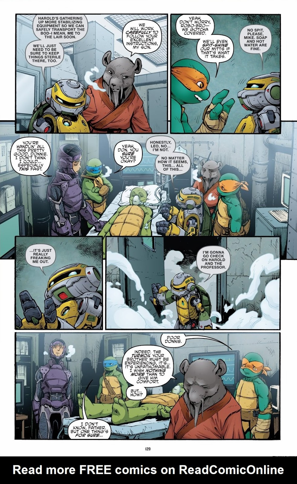 Read online Teenage Mutant Ninja Turtles: The IDW Collection comic -  Issue # TPB 6 (Part 2) - 27
