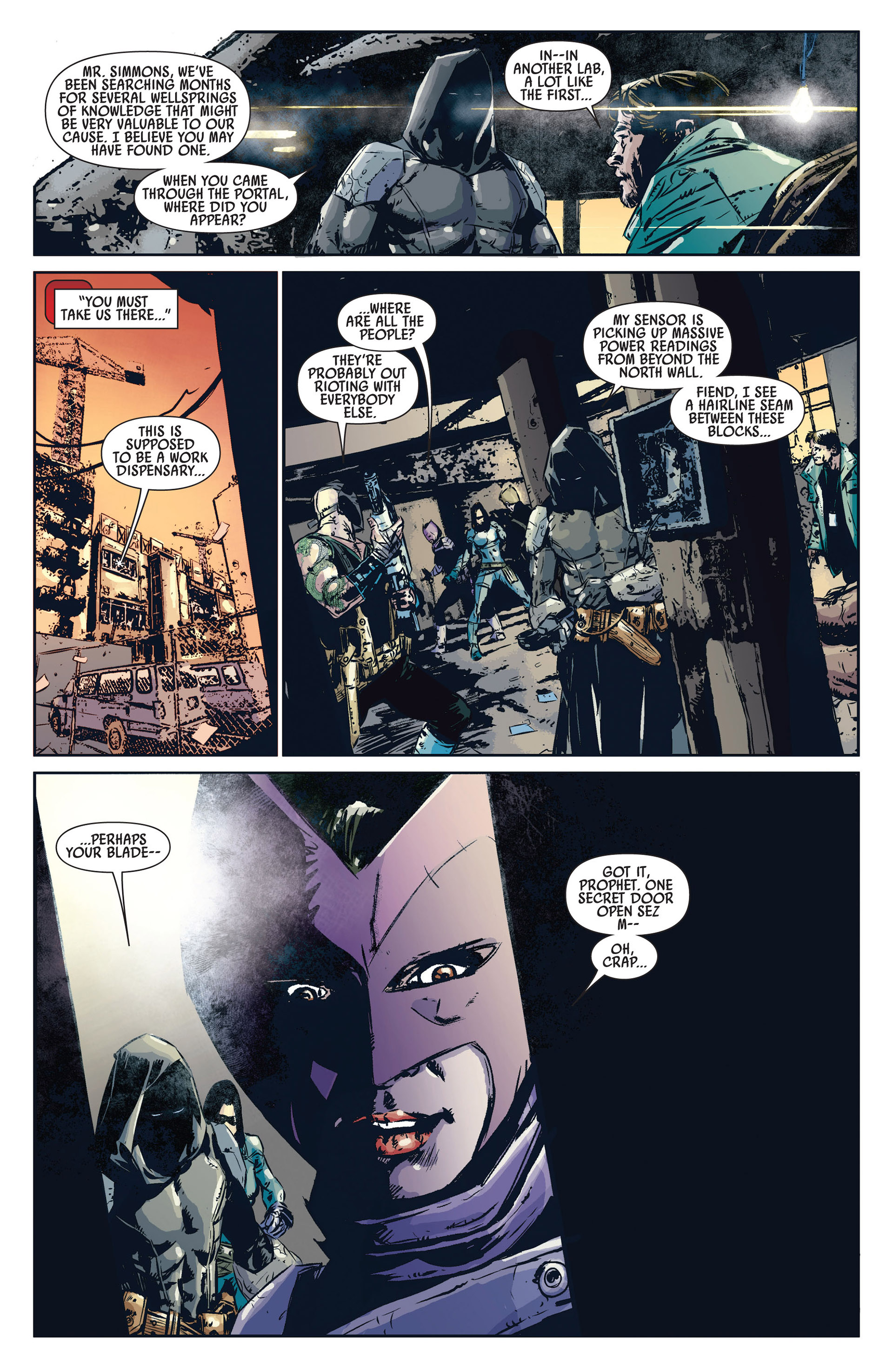 Read online Age of Apocalypse (2012) comic -  Issue #1 - 20