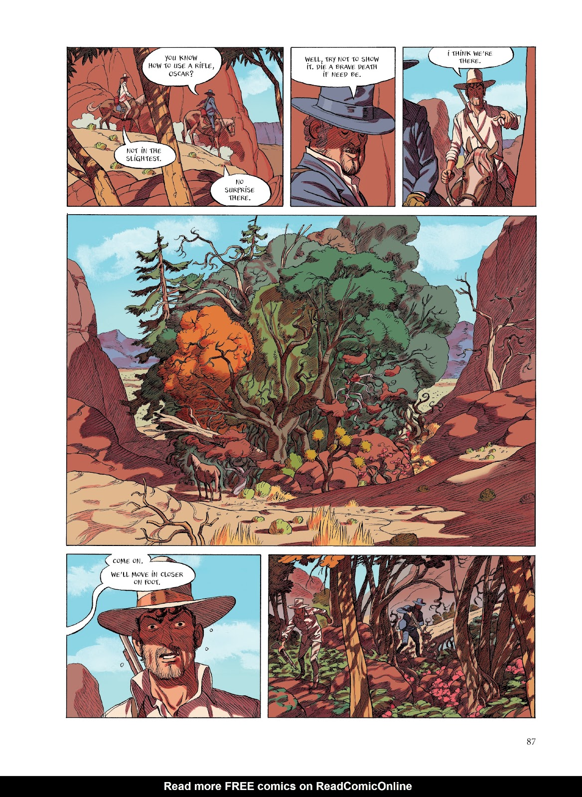 Read online The Smell of Starving Boys comic -  Issue # TPB - 88