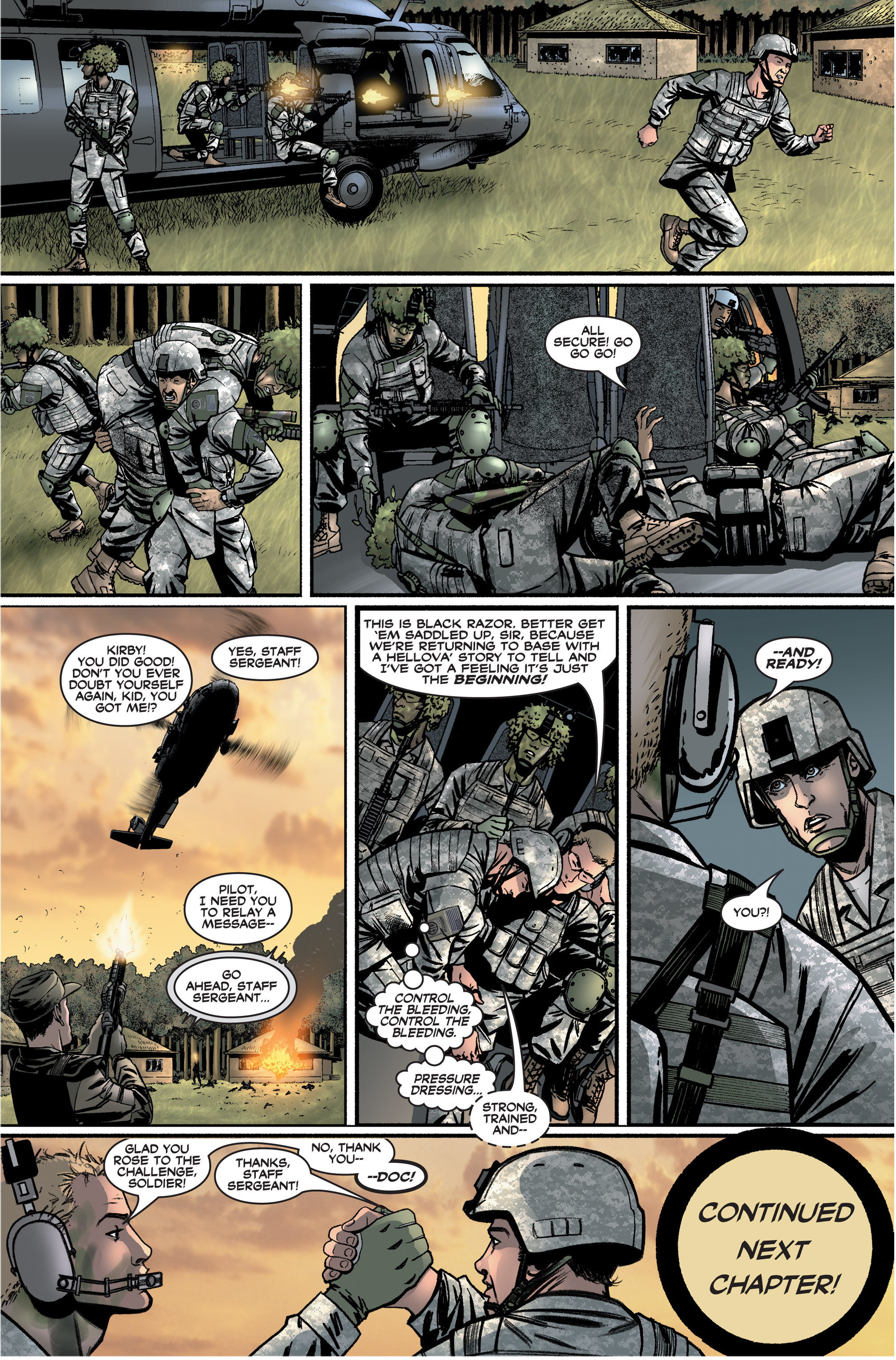 Read online America's Army comic -  Issue #2 - 24