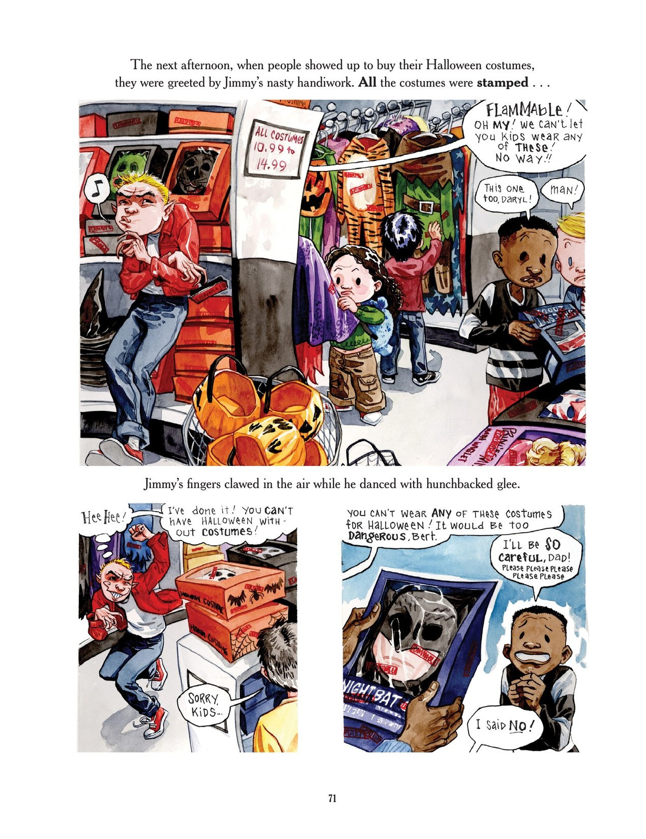 Read online Scary Godmother comic -  Issue # TPB - 71