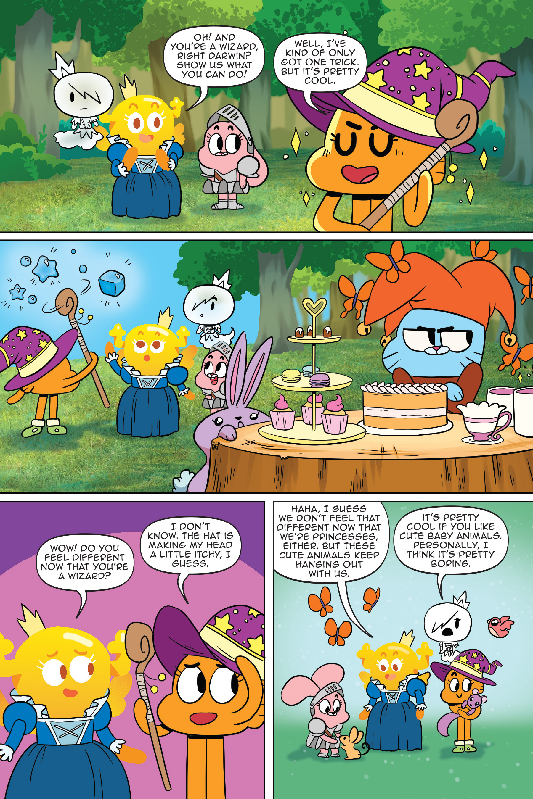Read online The Amazing World of Gumball: Fairy Tale Trouble comic -  Issue # Full - 77