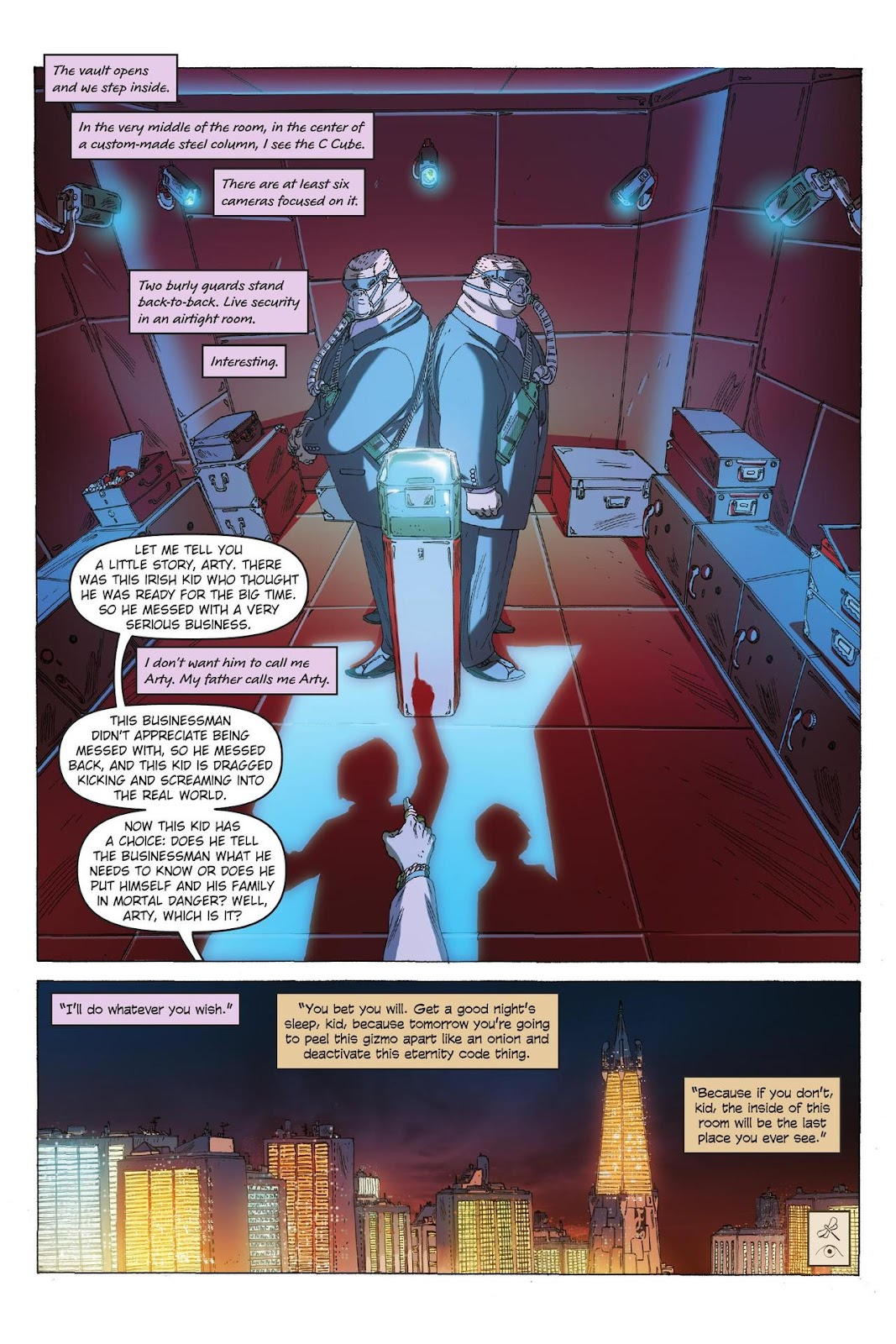 Artemis Fowl: The Eternity Code issue TPB - Page 76