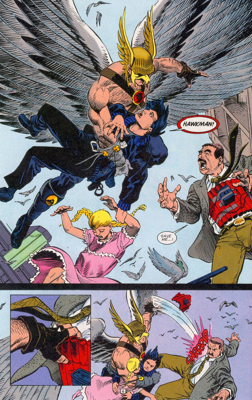 Hawkman (1993) Issue #24 #27 - English 8