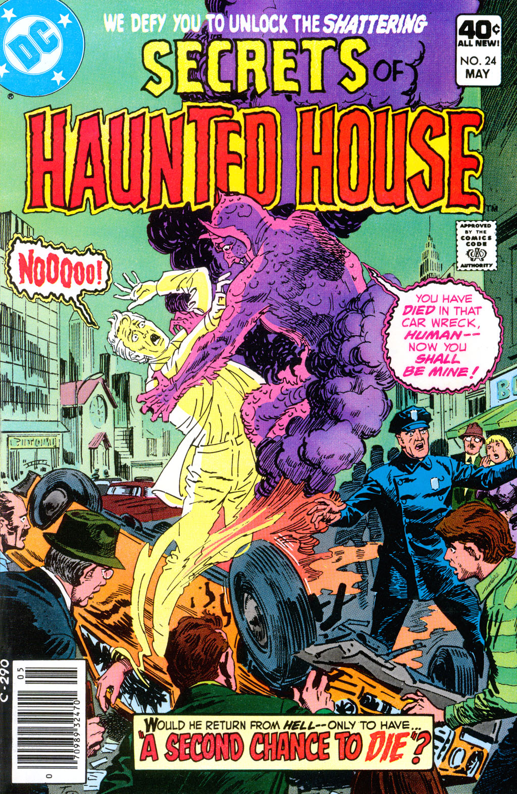 Read online Secrets of Haunted House comic -  Issue #24 - 1