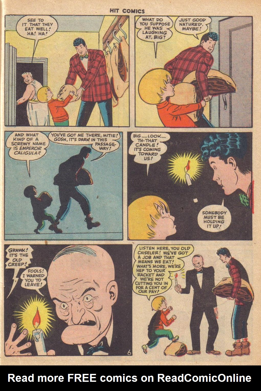 Read online Hit Comics comic -  Issue #46 - 55