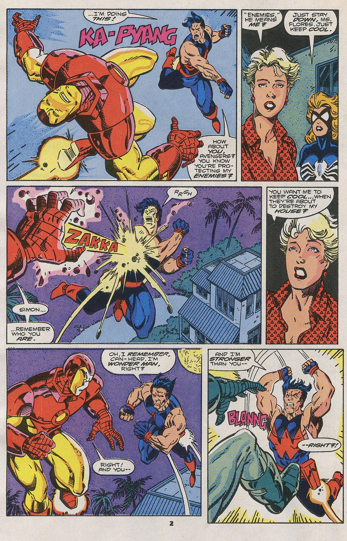 Read online Wonder Man (1991) comic -  Issue #2 - 3