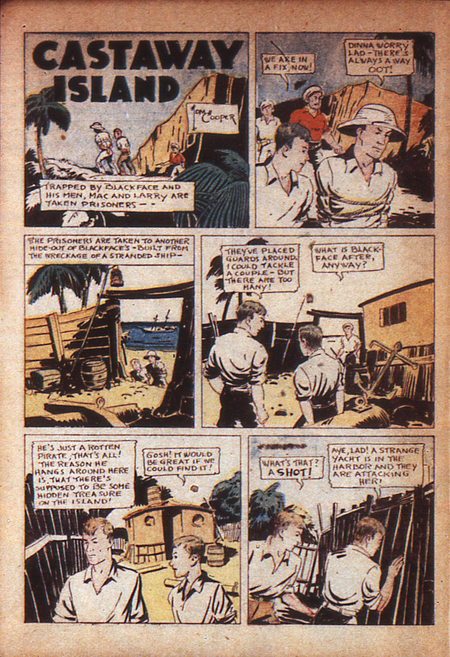 Read online Adventure Comics (1938) comic -  Issue #7 - 9