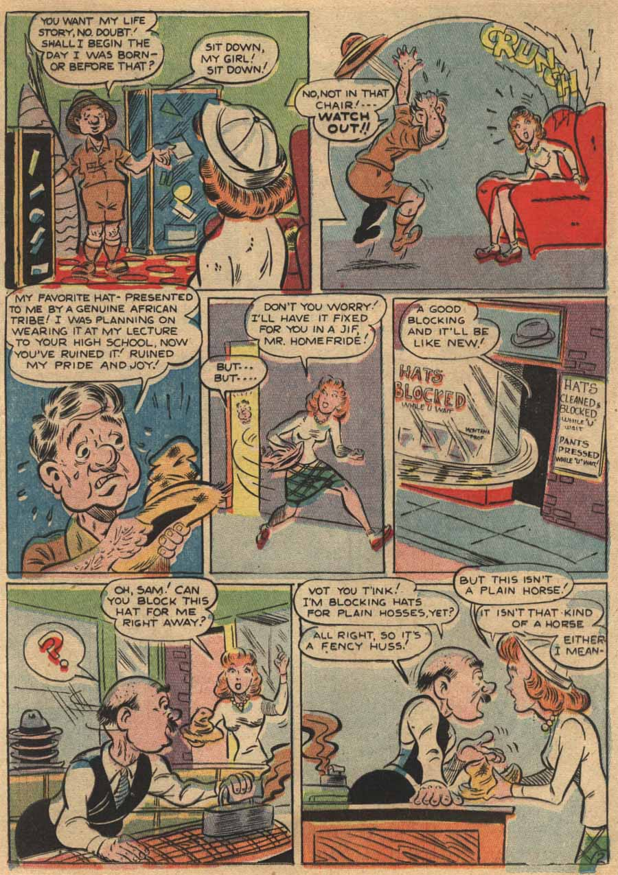 Zip Comics issue 37 - Page 23