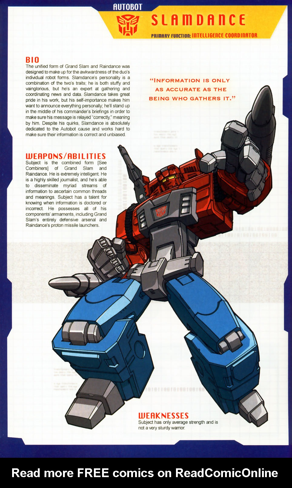 Read online Transformers: More than Meets the Eye comic -  Issue #6 - 21