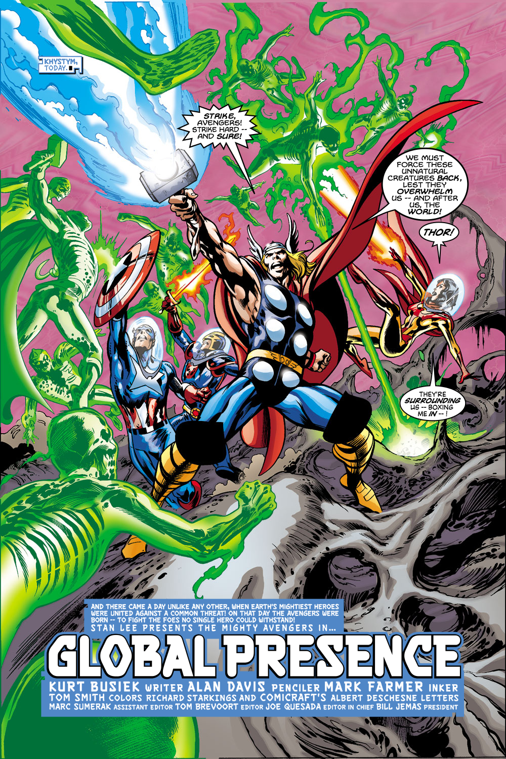 Read online Avengers (1998) comic -  Issue #43 - 6