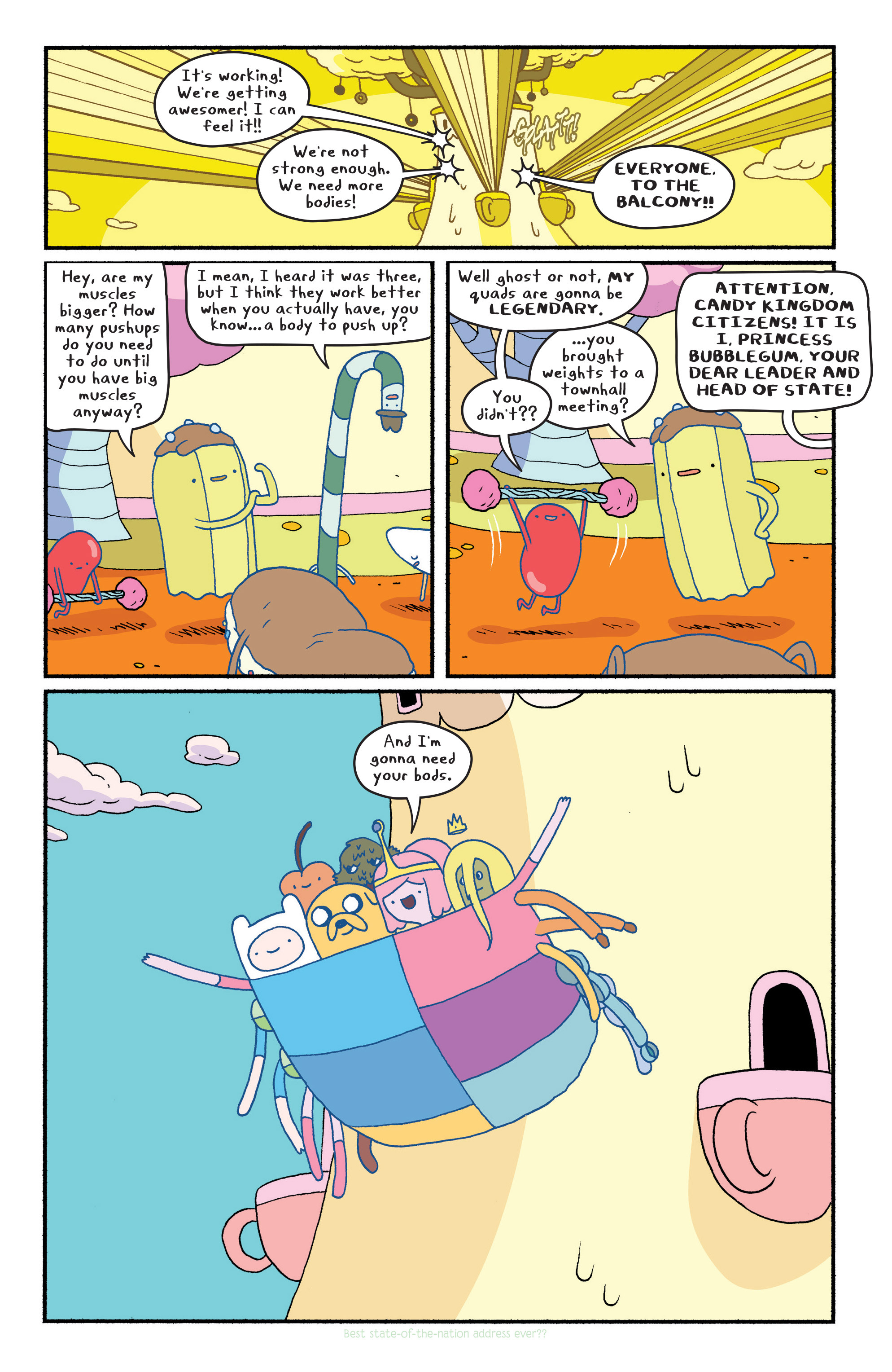Read online Adventure Time comic -  Issue #Adventure Time _TPB 6 - 93