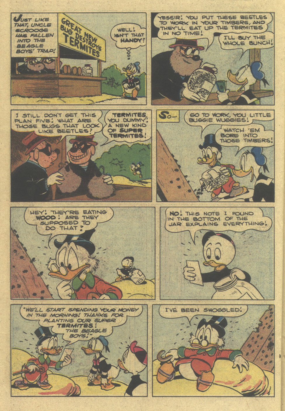 Read online Uncle Scrooge (1953) comic -  Issue #195 - 26