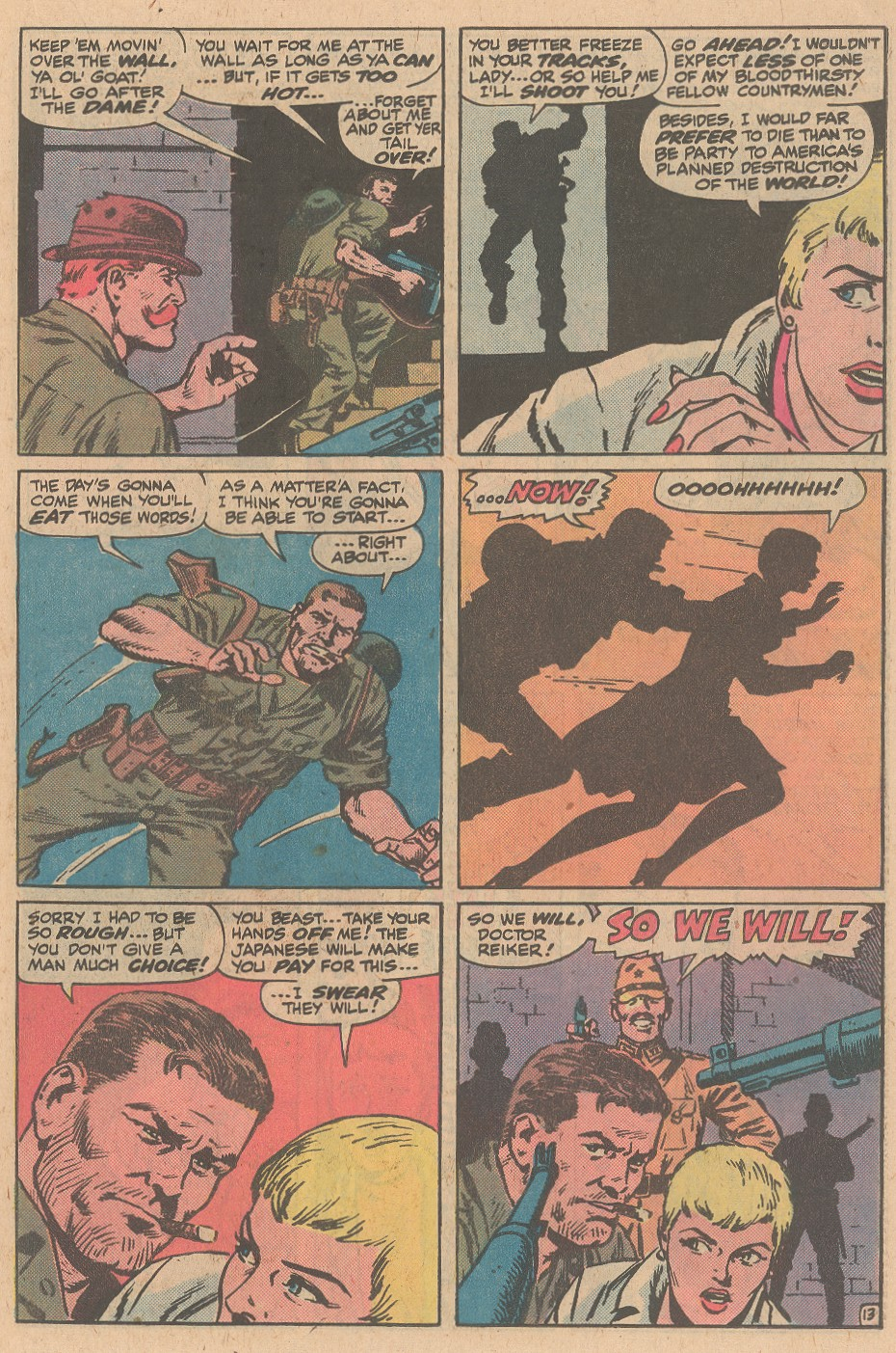 Read online Sgt. Fury comic -  Issue #161 - 19