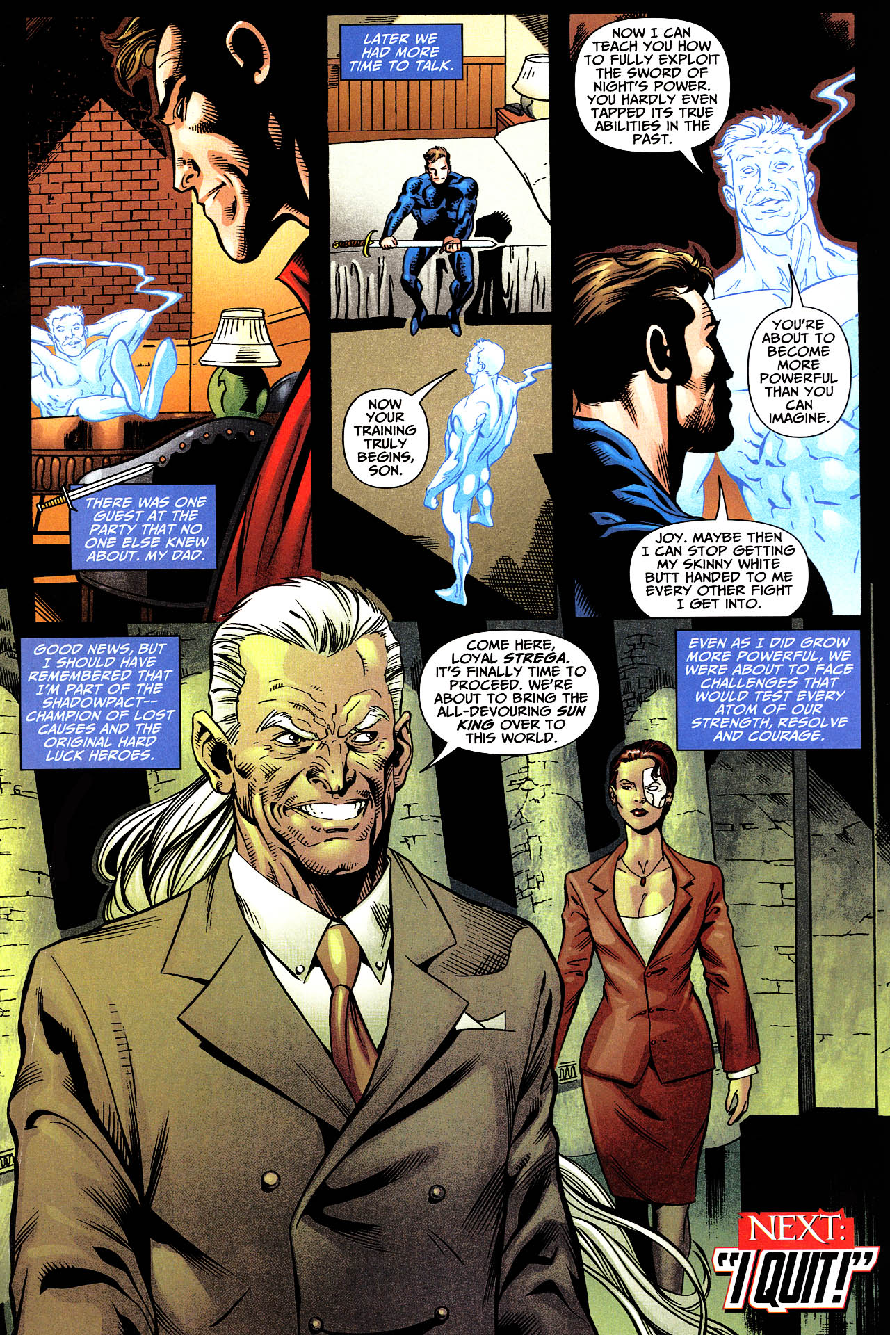Read online Shadowpact comic -  Issue #12 - 23