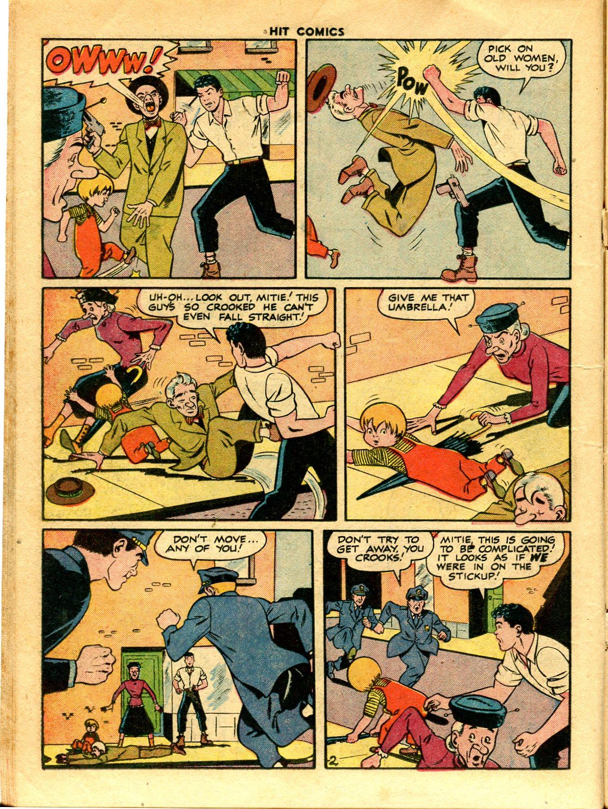 Read online Hit Comics comic -  Issue #48 - 22