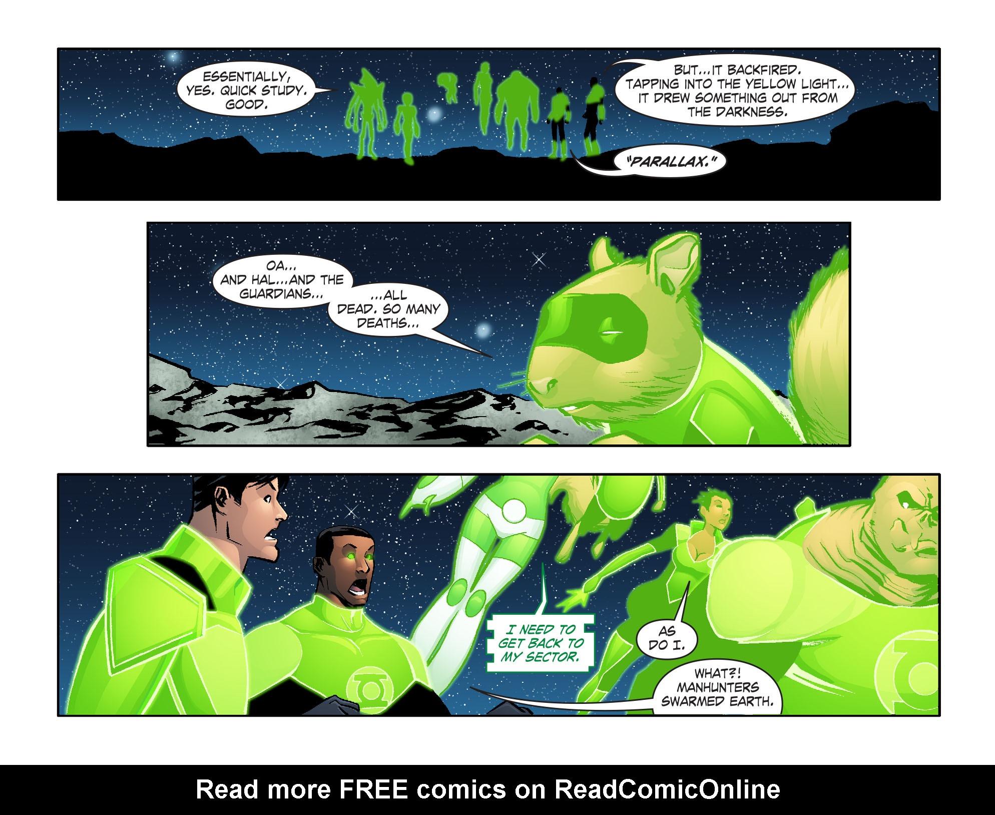 Read online Smallville: Lantern [I] comic -  Issue #6 - 7