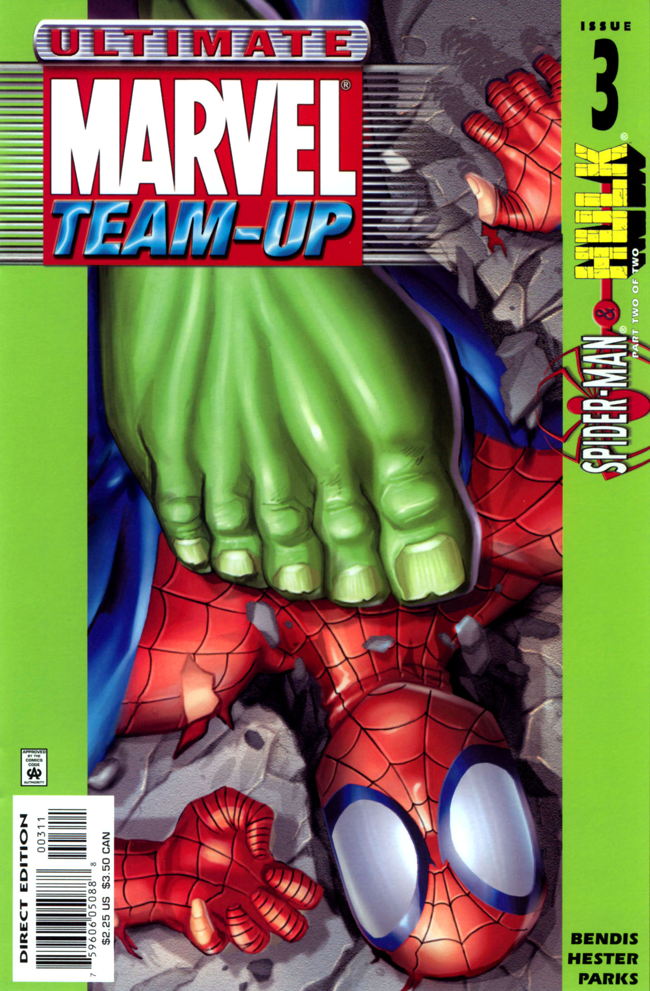 Read online Ultimate Marvel Team-Up comic -  Issue #3 - 1