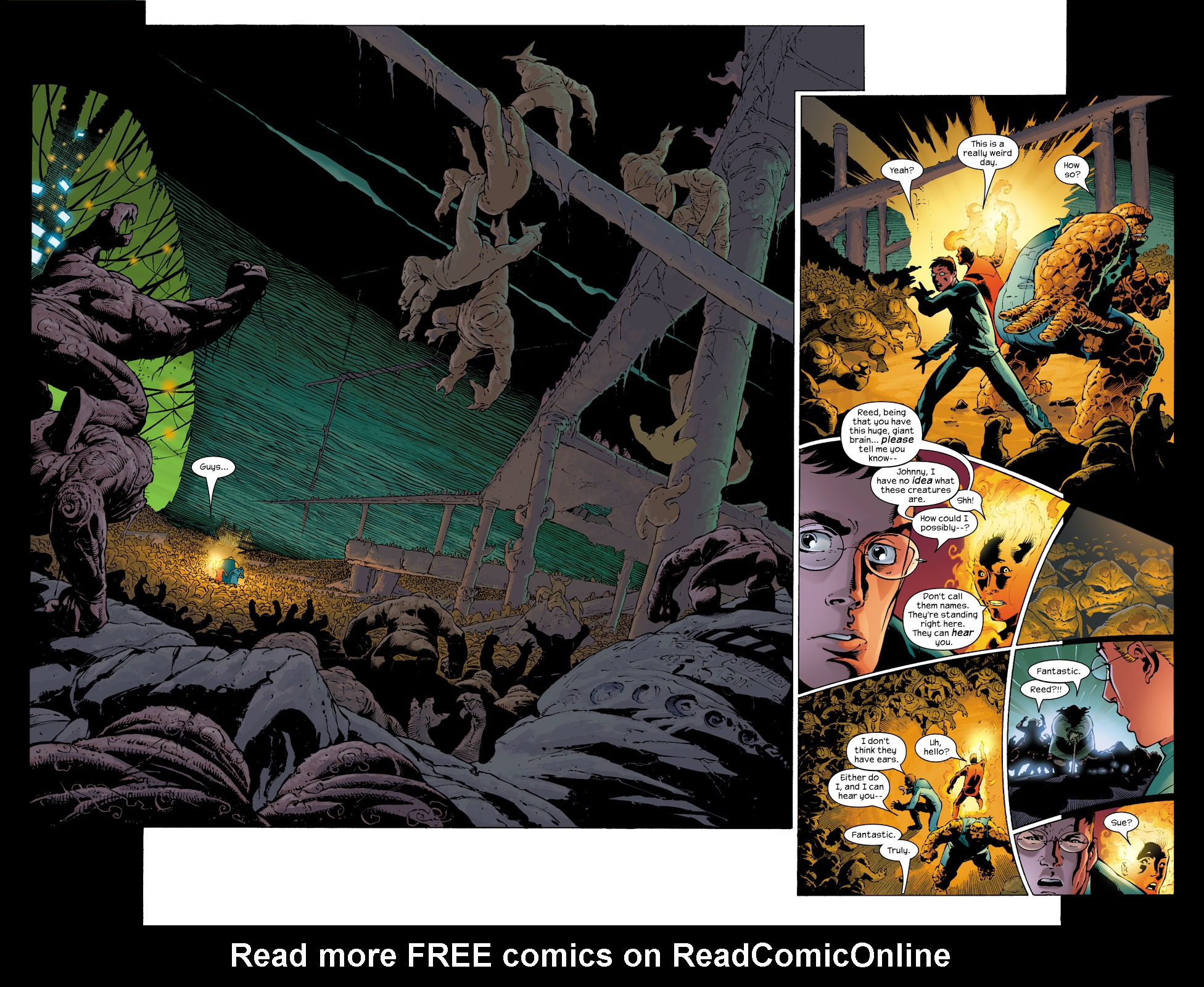 Read online Ultimate Fantastic Four (2004) comic -  Issue #6 - 2