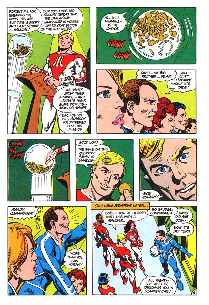 Read online Atari Force (1982) comic -  Issue #4 - 8