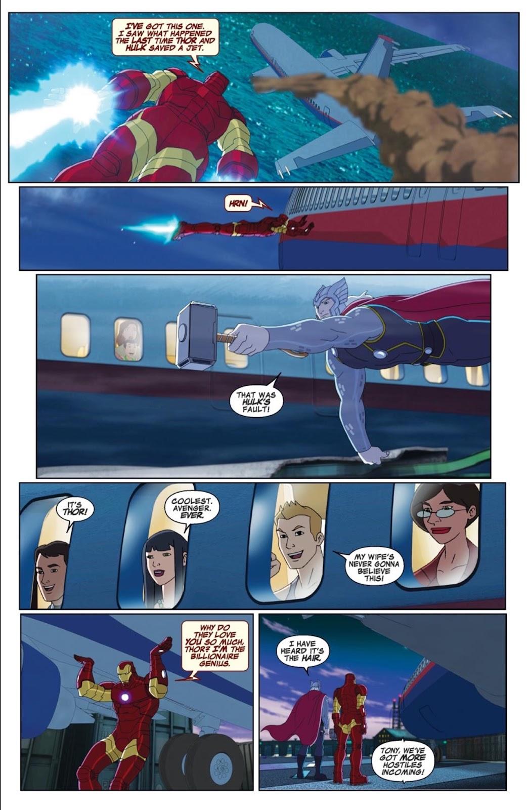 Read online Marvel Universe Avengers Assemble Season 2 comic -  Issue #1 - 4