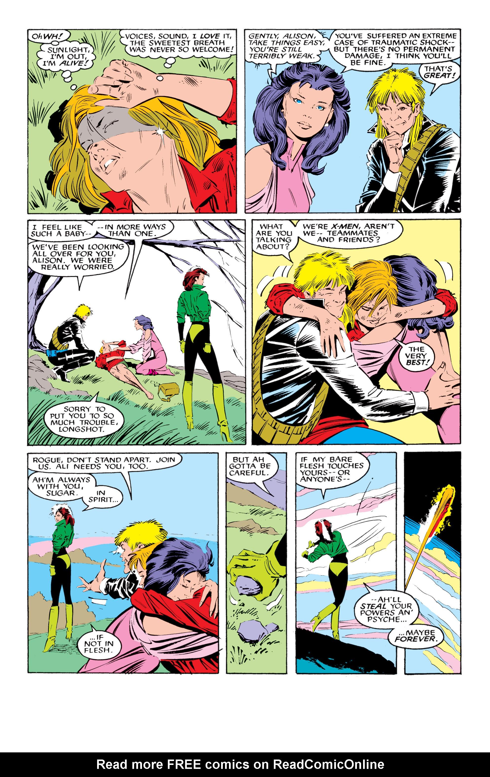 Read online Uncanny X-Men (1963) comic -  Issue #218 - 9