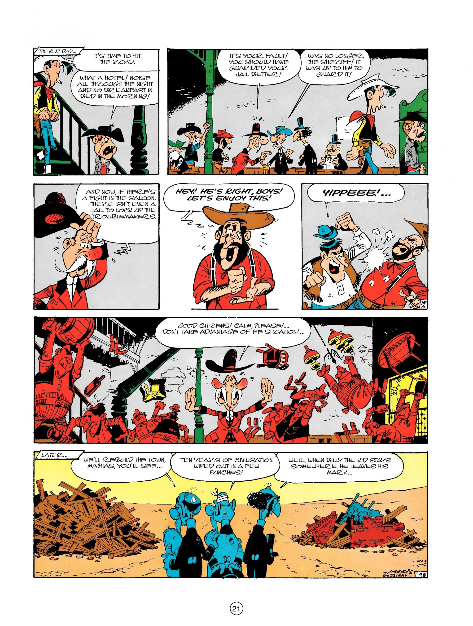 Read online A Lucky Luke Adventure comic -  Issue #18 - 21