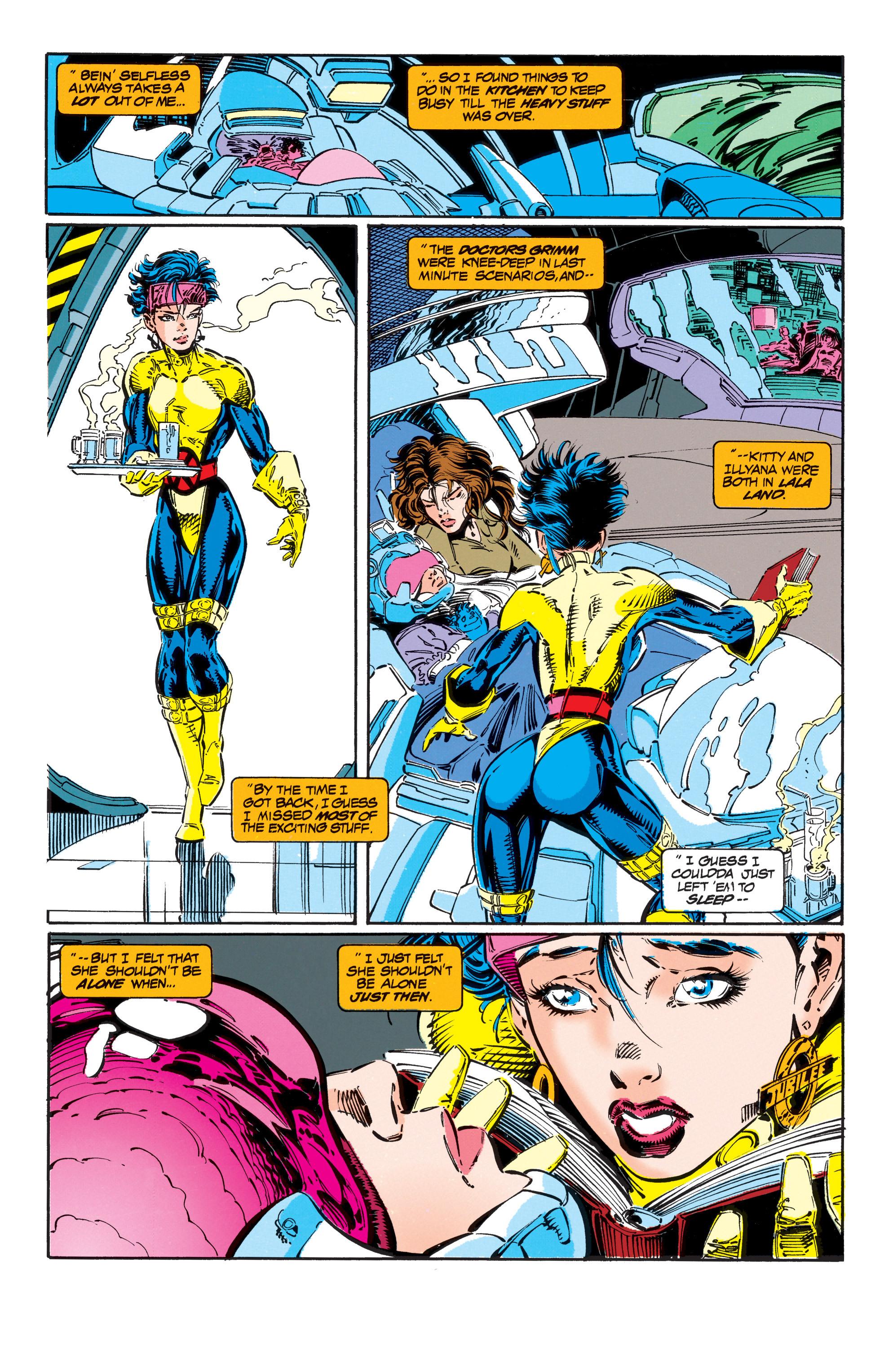 Read online Uncanny X-Men (1963) comic -  Issue #303 - 18