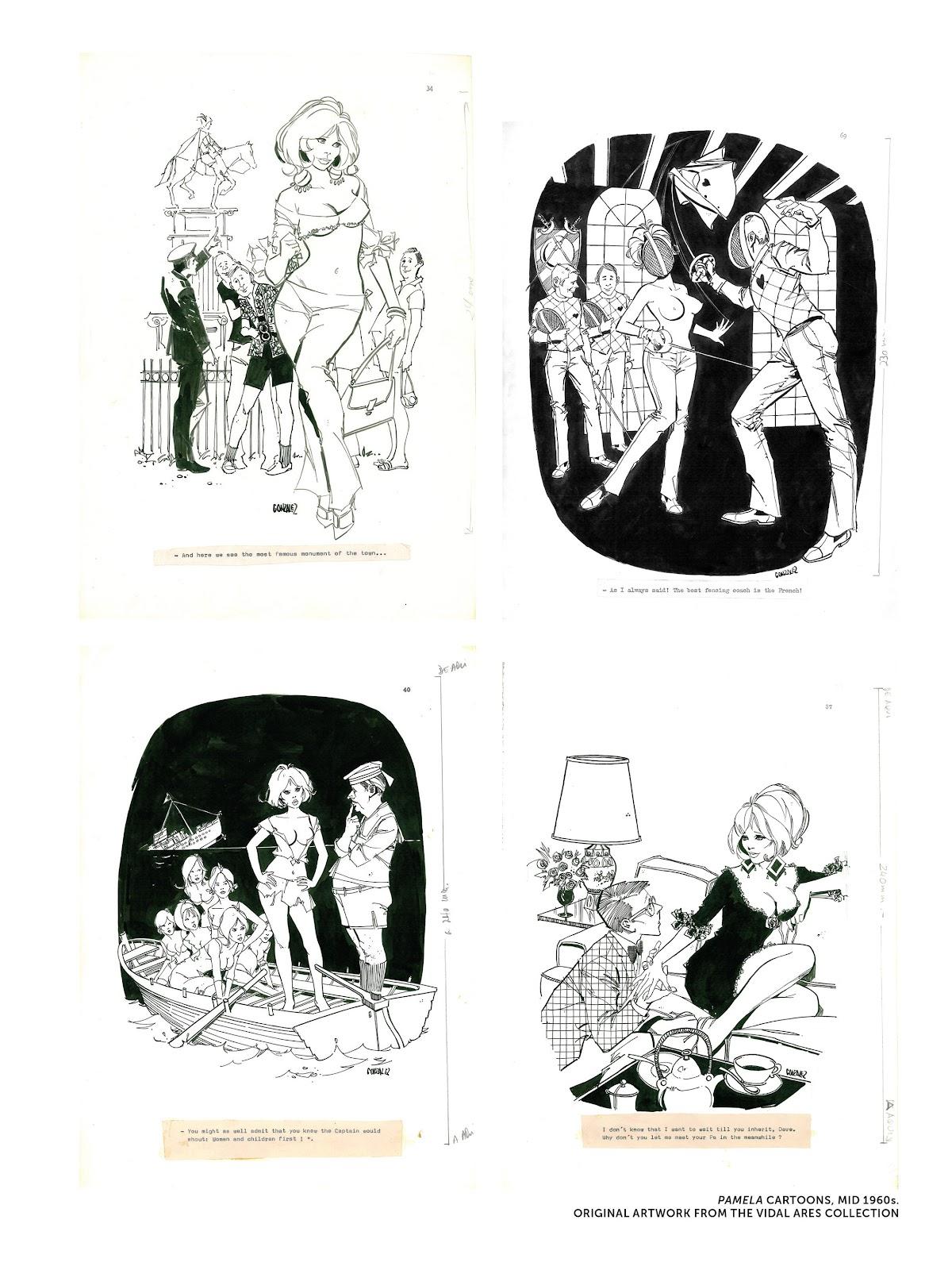 Read online The Art of Jose Gonzalez comic -  Issue # TPB (Part 3) - 2