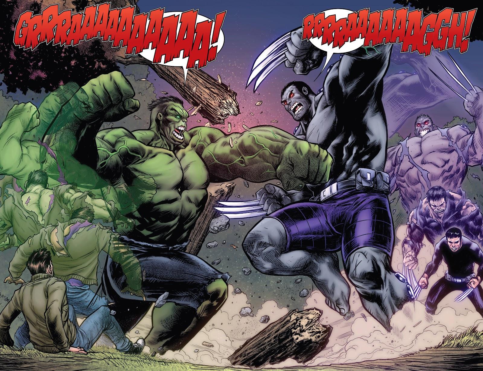 Read online Hulkverines comic -  Issue #1 - 18