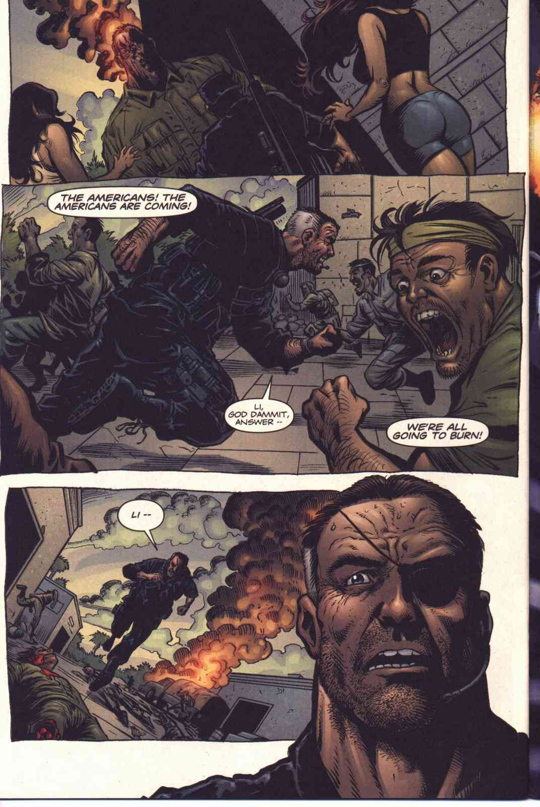 Read online Fury comic -  Issue #5 - 21