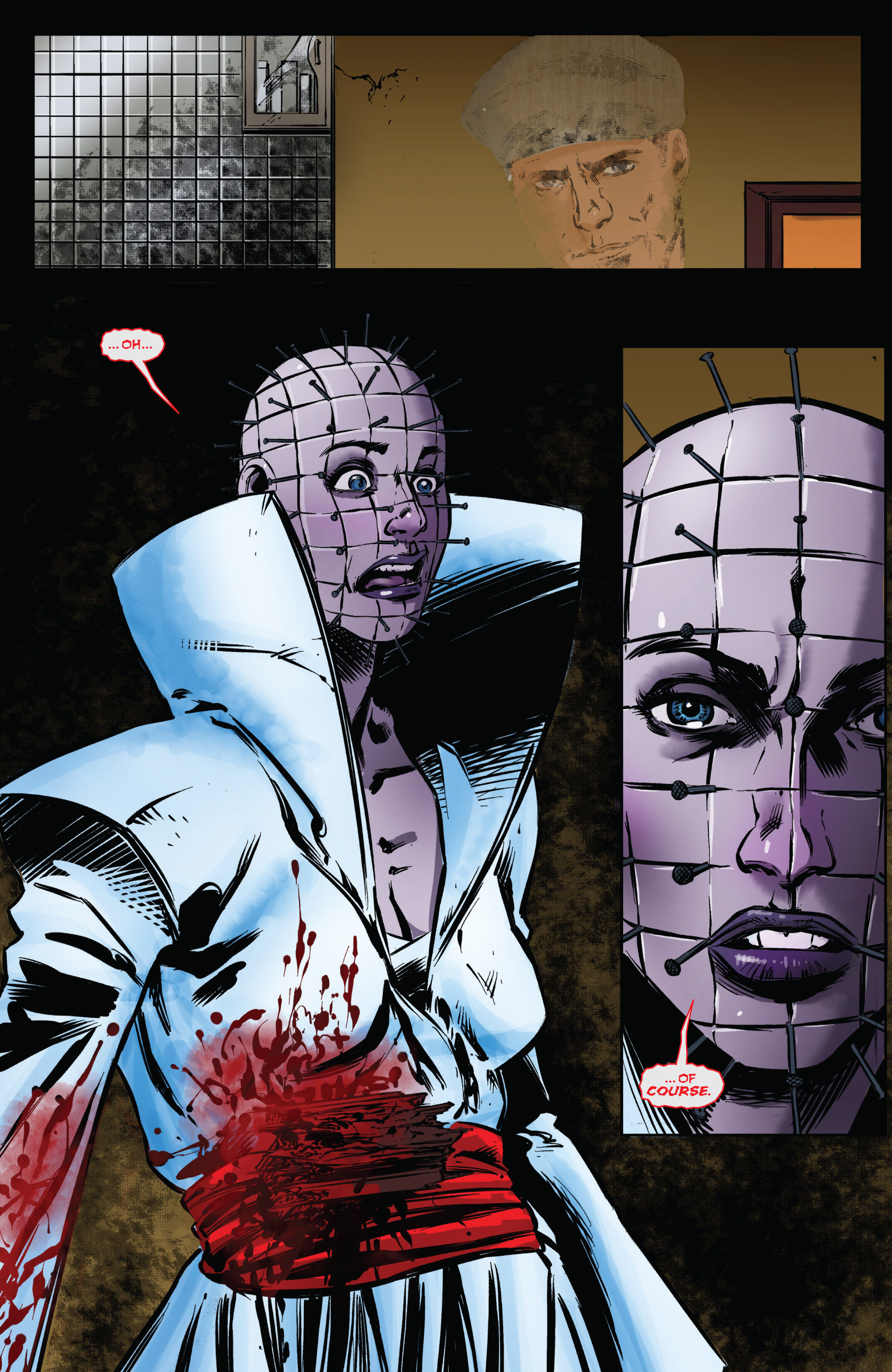 Read online Clive Barker's Hellraiser: The Dark Watch comic -  Issue # TPB 1 - 65
