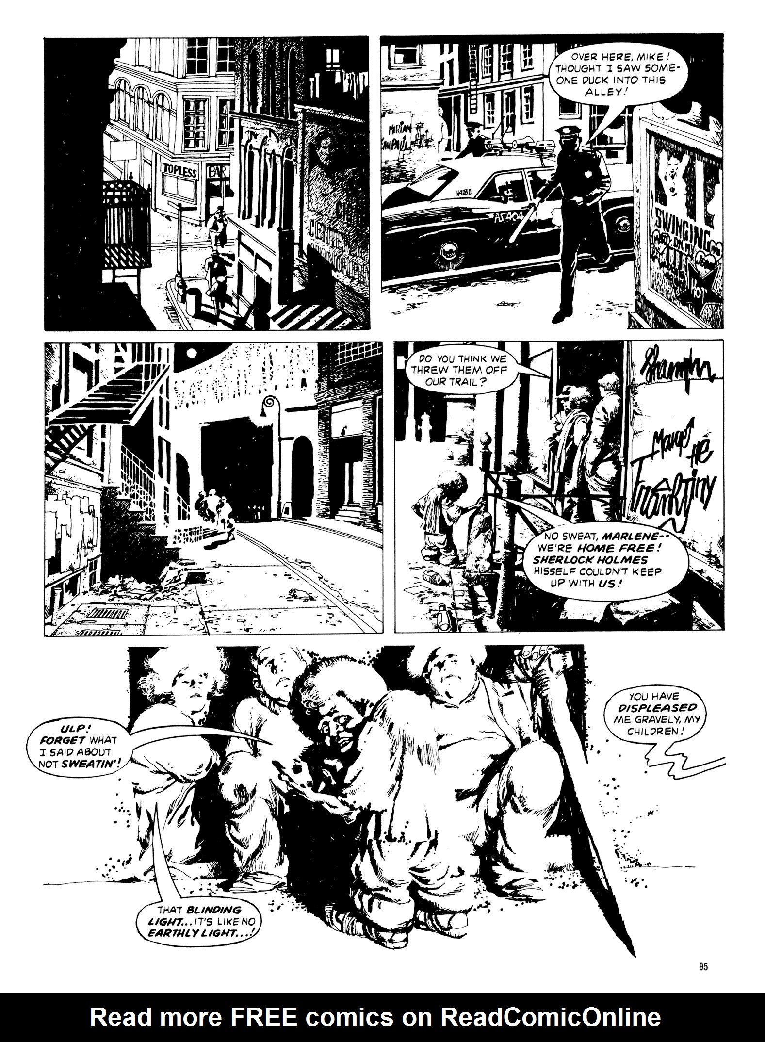 Read online Eerie Archives comic -  Issue # TPB 20 - 95