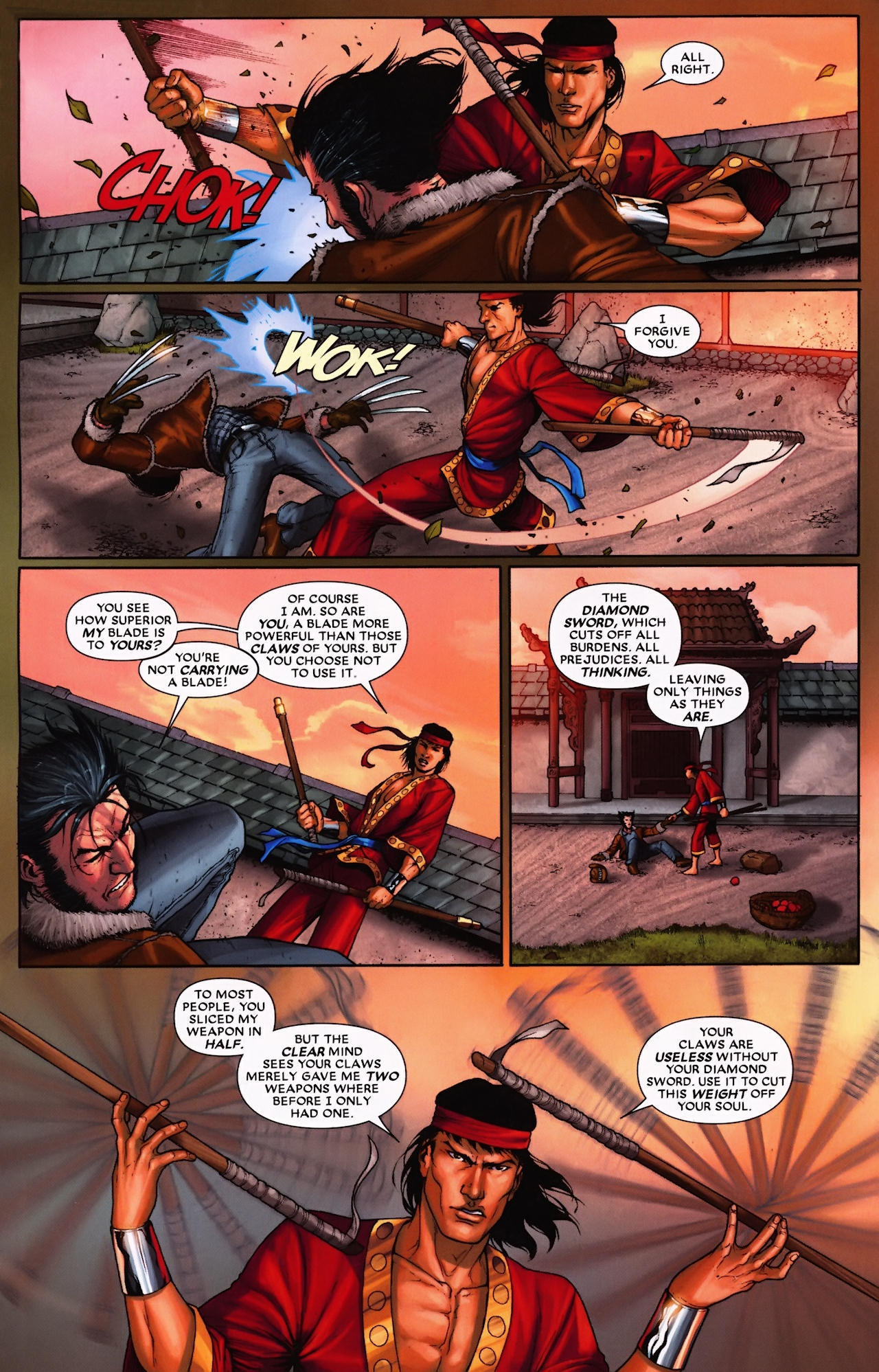 Read online Wolverine: First Class comic -  Issue #9 - 6